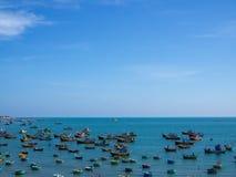 Деревня рыболова стоковые фотографии rf