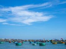Деревня рыболова стоковые изображения rf