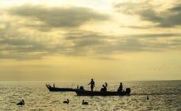 Деревня рыболова Tarcoles - Коста-Рика стоковые изображения
