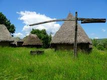 Деревня Трансильвании Стоковое фото RF