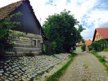 Деревня улицы Стоковое Изображение RF