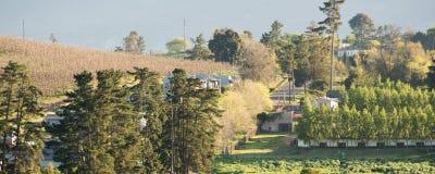Деревня фермы стоковое фото