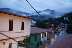 ДЕРЕВНЯ ЮЖНОЙ АМЕРИКИ ВЕНЕСУЭЛЫ CHUAO стоковая фотография rf