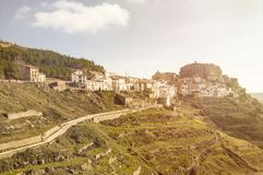 Деревня Ares del Maestre Стоковая Фотография