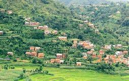 Деревня Balthali стоковые фотографии rf