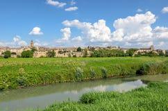 Деревня Bevagna & x28; Umbria& x29; Стоковое Фото