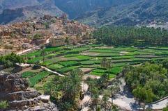 Деревня Bilad Sayt, султанат Оман Стоковое Изображение