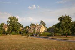 Деревня Broadwell, Cotswolds, Gloucestershire, Англия стоковое фото