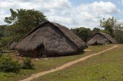 Деревня Bunong. Сенатор Monorom. Камбоджа Стоковая Фотография RF