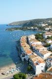 Деревня Cadaqués стоковое фото rf