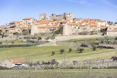 Деревня Castelo Rodrigo историческая Стоковая Фотография RF