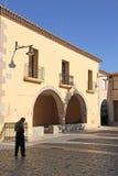 Деревня Cedrillas, Теруэль, Арагон, Испания стоковое фото