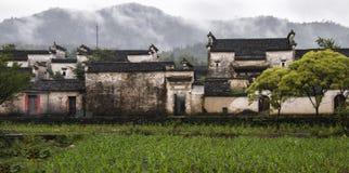 Деревня Chengkan старая, провинция Аньхоя, Китай Стоковые Изображения RF