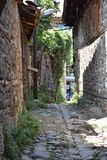 Деревня Cumalikizik, Бурса, Турция Стоковое Изображение RF