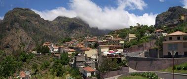 Деревня Curral das Freiras, Мадейра стоковое изображение