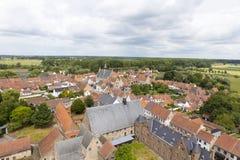 Деревня Damme и окружать стоковое фото rf
