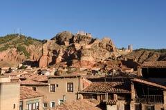 Деревня Daroca; Провинция Сарагосы; стоковое фото rf