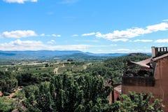 Деревня de Руссильон, Провансаль et Люберон стоковая фотография rf