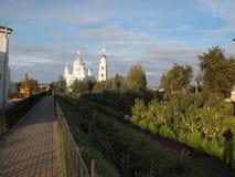 Деревня Diveevo Стоковое фото RF