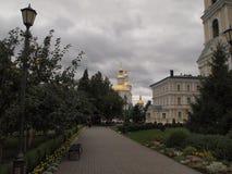 Деревня Diveevo Стоковое Изображение