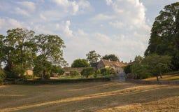 Деревня Donnington, Gloucestershire Cotswold, Англия стоковые изображения