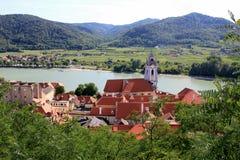 Деревня Durnstein Стоковое Изображение