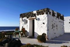 Деревня El Golfo, Лансароте стоковое фото