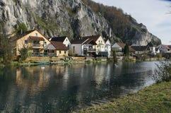 Деревня Essing в Altmuehltal Стоковое Фото