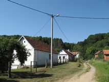 Деревня Gazije стоковое изображение rf