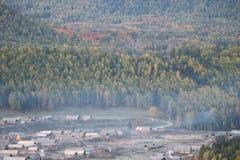 Деревня Hemu стоковые фото