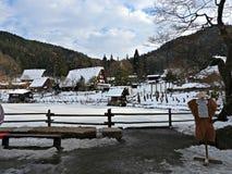 Деревня Hida фольклорная, Takayama, Япония Стоковые Фотографии RF