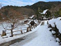Деревня Hida фольклорная, Takayama, Япония Стоковое Фото