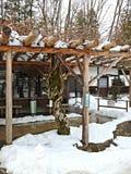 Деревня Hida фольклорная, Takayama, Япония Стоковые Изображения