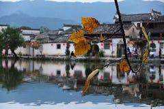 Деревня Hong - провинция Аньхоя - историческая деревня Китая Стоковая Фотография RF