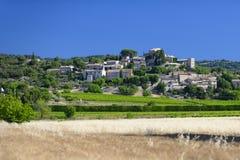 Деревня Joucas в Провансали стоковые изображения