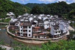 Деревня Jujing в WuYuan Стоковая Фотография RF