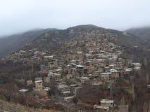 Деревня Kang, северовосточный Иран Стоковое фото RF