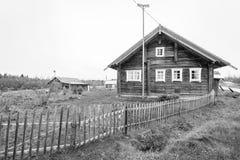 Деревня Karelia на России стоковая фотография rf