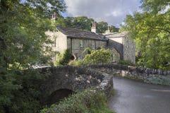 Деревня Kettlewell, Йоркшир стоковое изображение