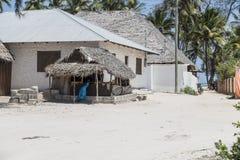 Деревня Kiwenga стоковое изображение