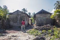 Деревня Kiwenga стоковые изображения rf