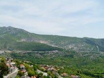 Деревня Klis в Хорватии Стоковые Фотографии RF