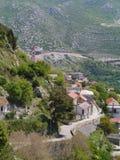 Деревня Klis в Хорватии Стоковое Фото