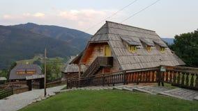Деревня Kusturica Стоковые Изображения RF