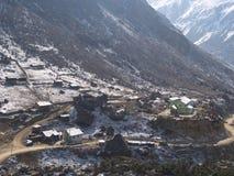 Деревня Lachen и Lachung, Сикким ИНДИЯ, 14-ое апреля 2013: s Стоковое Изображение RF