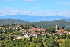 Деревня Lafkos стоковое фото rf