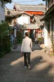 Деревня Lijiang Стоковое Изображение RF