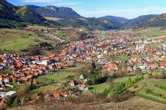 Деревня Likavka стоковые фотографии rf