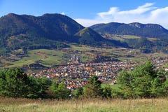 Деревня Likavka стоковое изображение rf