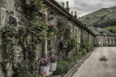 Деревня Luss, Шотландия стоковое фото rf